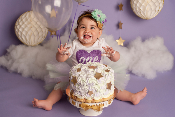 Christine Melissa Photography Long Island Cake Smash Session