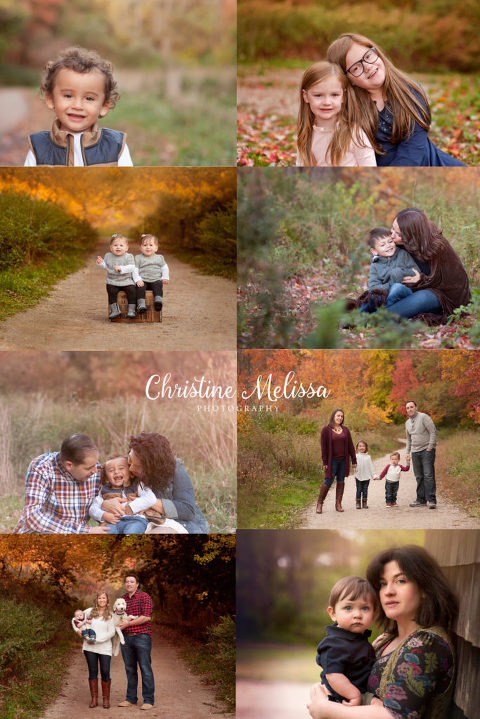 fall family sessions with babies, children, maternity and rich vibrant folliage