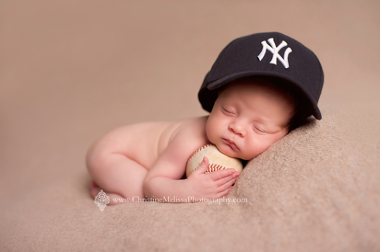 Newborn Pictures Baseball